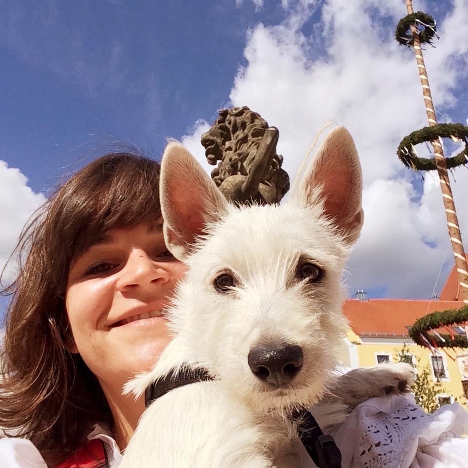 Lola auf der Kirwa